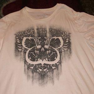 Hot Topic Shirts - rare Black Veil Brides logo band tee